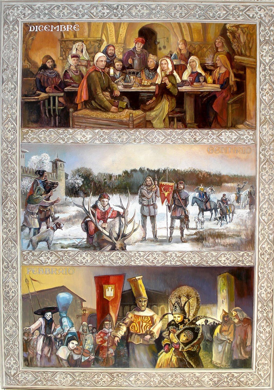 Il Calendario Medievale/L'Inverno