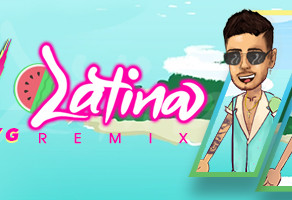 "The Platinum Certified Single ""Latina"" By Reykon & Maluma"