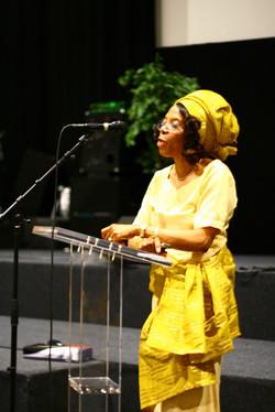 Ngozi Okike Singing 55th Bday