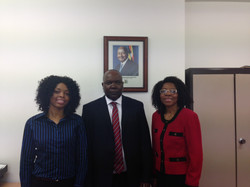 Ngozi and Ugandan High Commissioner