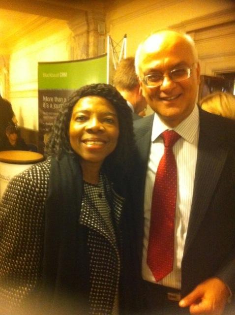Ngozi with Ram Goodimal