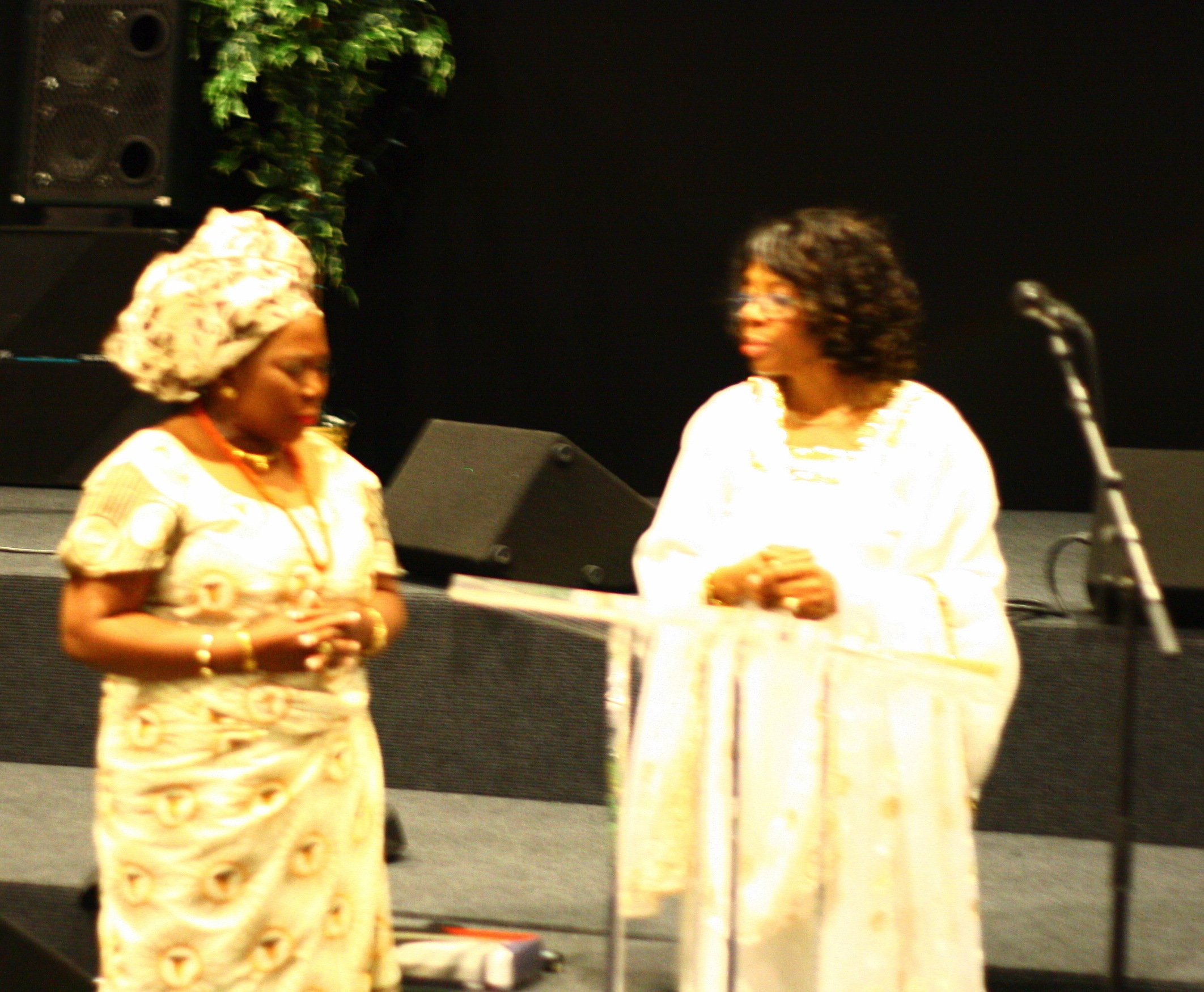 Ngozi Receiving a Prophetic Word