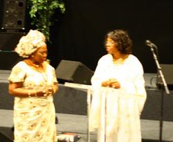 Ngozi Receiving a Prophetic Word