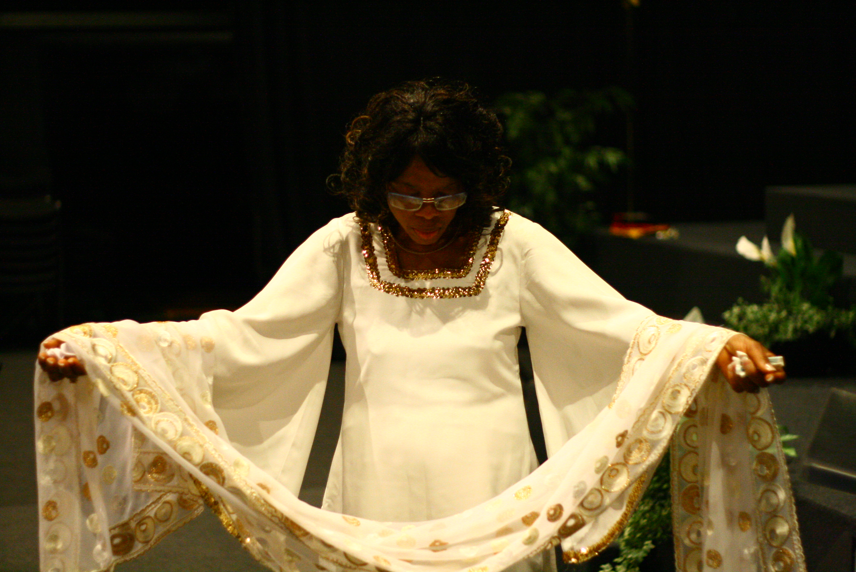 Ngozi in Worship Mode