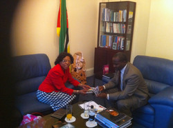High Commissioner-Mozambique and me