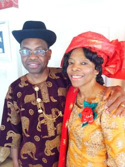 Ngozi and Chiz 60th Bday at Home