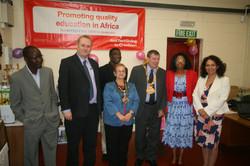 Mayor MP and BAFA Officials