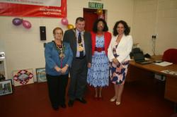 Mayor Mayoress and MP