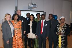 Ngozi and BAFA Management Team