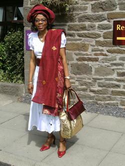 Elewechi at Ainslies Wedding