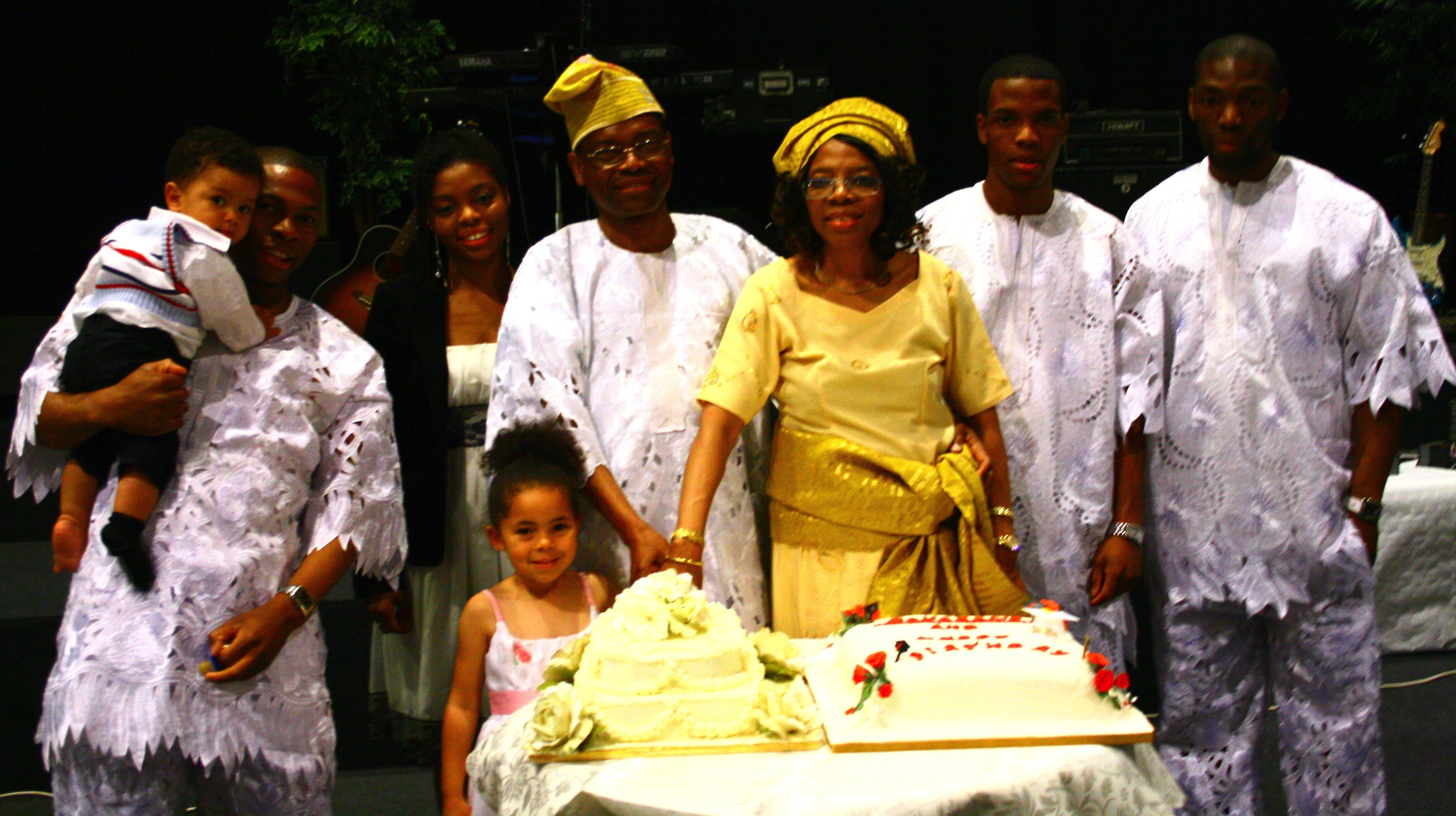 Ngozi and Family 55th Bday