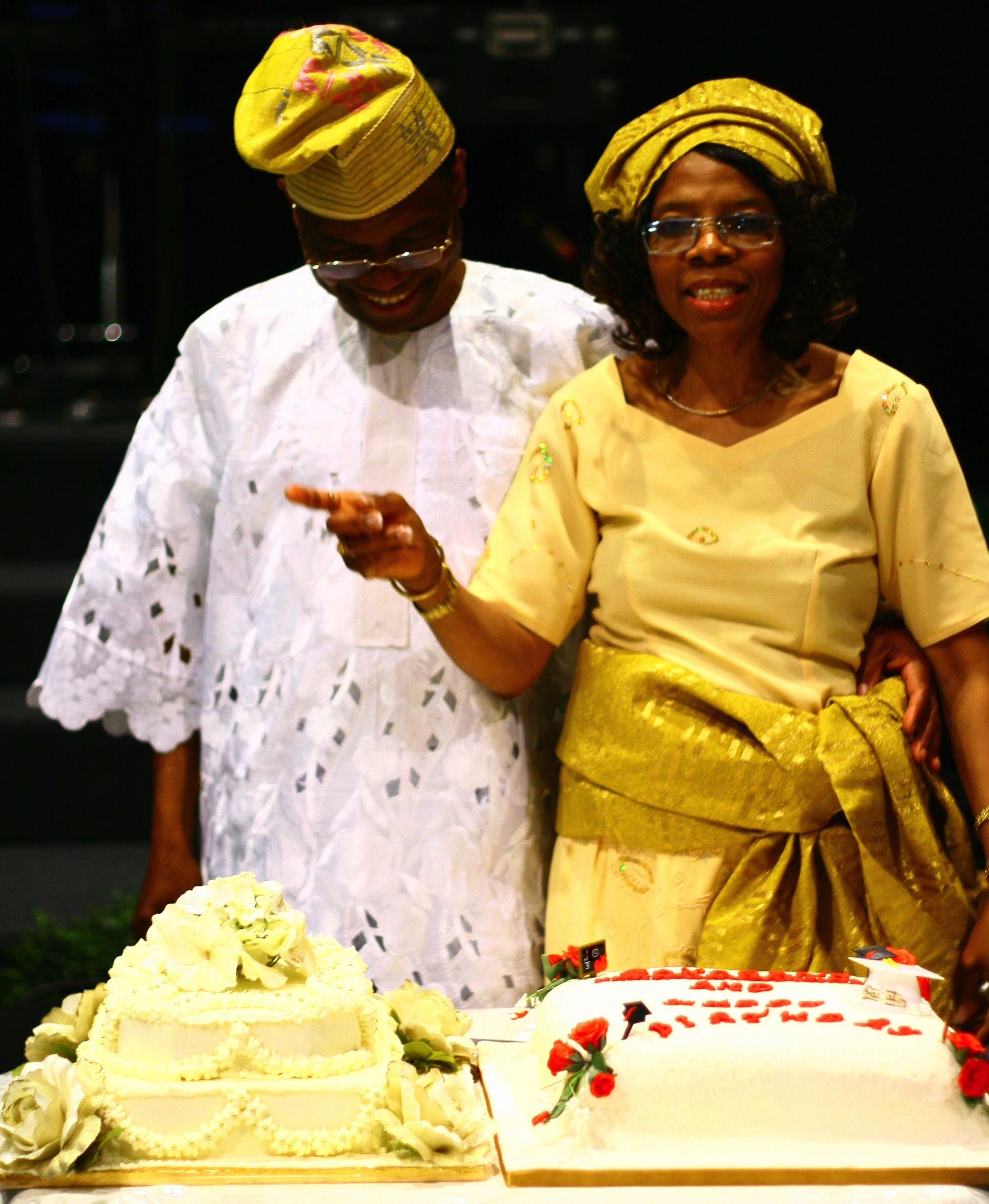 Ngozi and Husband  55th Bday