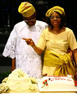 Ngozi and Husband  55th Bday