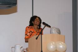 Ngozi Making a Speech (BAFA 5th Ann)