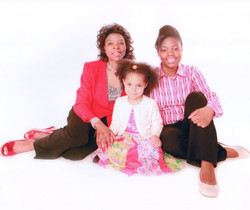 Mother, Daughter and Grand-daughter