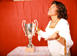 Ngozi in Worship Mode