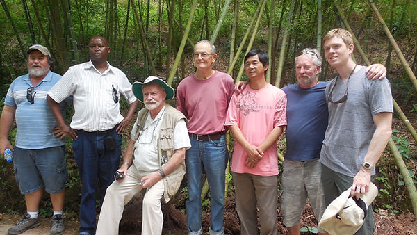 Bamboo training class, Yunnan Bamboo