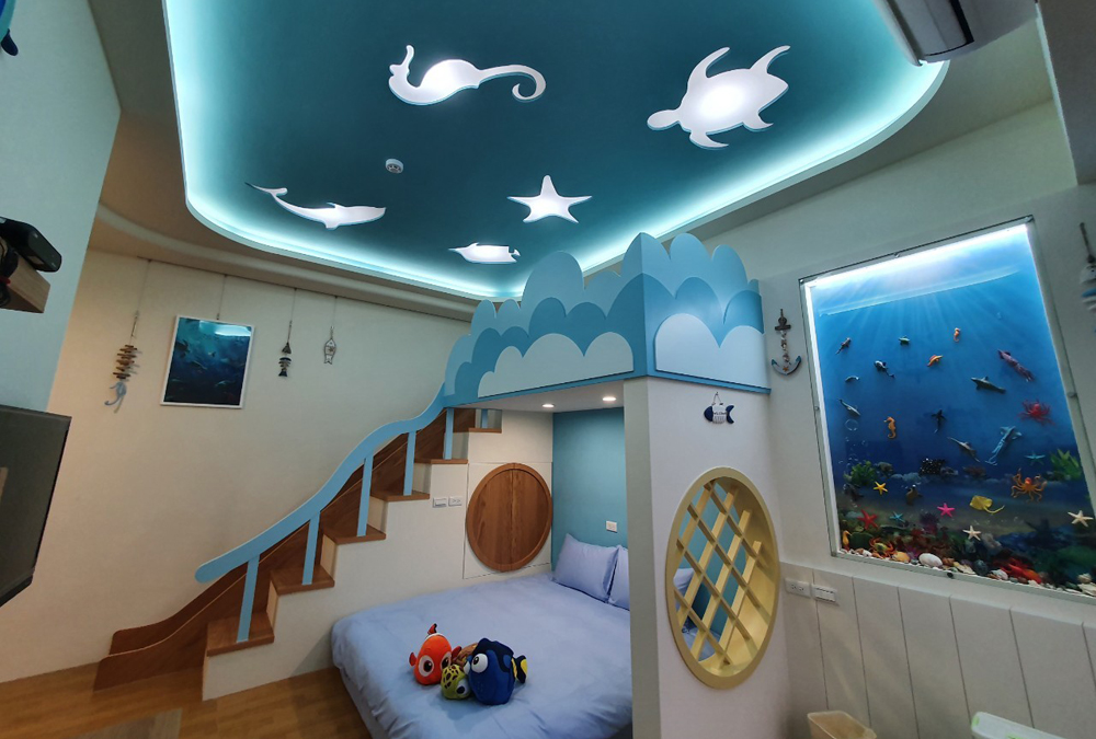 二館:海底世界(3人房)
