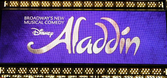 Arabian Niiiights!!!! - Aladdin on Broadway