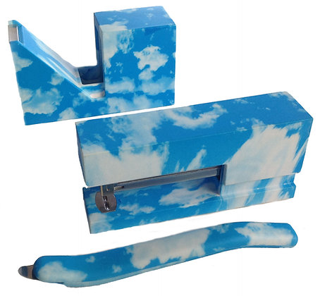 Sky / Cloud Print Stationery Set