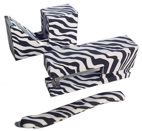 Zebra Print Stationery Set