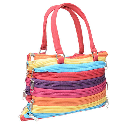 Multi Color Zip Bag