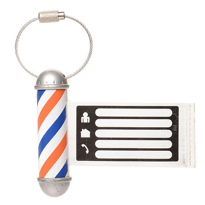 Barber Pole ID Tag