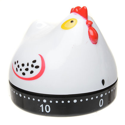 Chicken Timer White 2