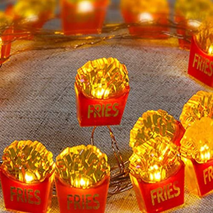 French Fries String Light 25ct