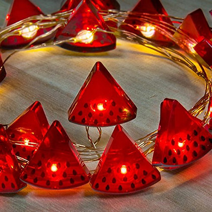 Watermelon String Lights 25ct Battery Operated