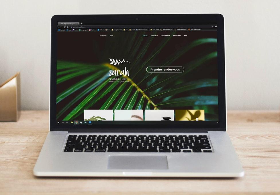 Website sarah naturopathe