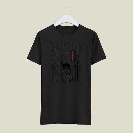 Tshirt line noir