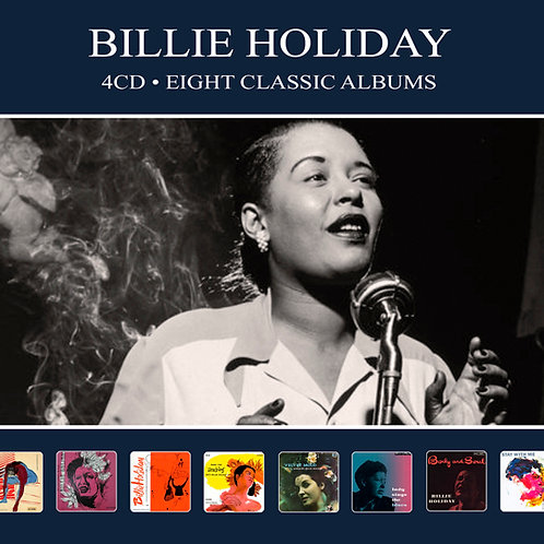 BILLIE HOLIDAY • 4CD • EIGHT CLASSIC ALBUMS