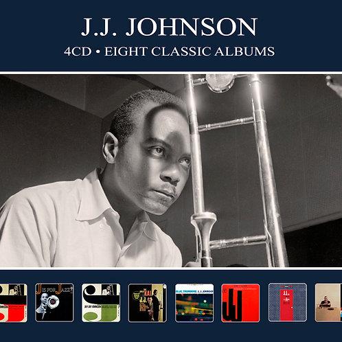 J.J. JOHNSON • 4CD • EIGHT CLASSIC ALBUMS