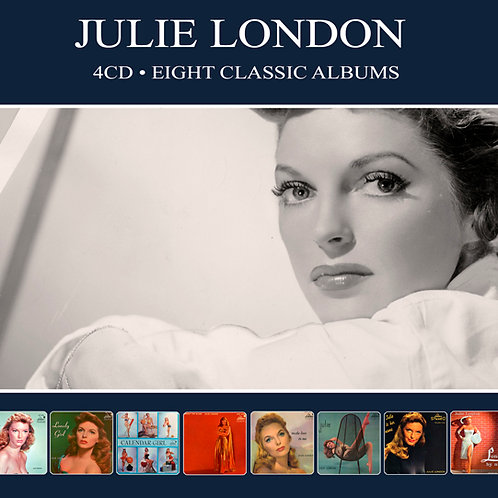 JULIE LONDON • 4CD • EIGHT CLASSIC ALBUMS