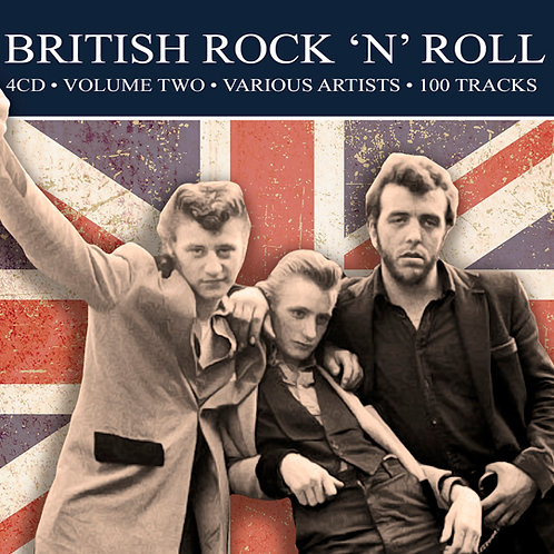 BRITISH ROCK 'N' ROLL • 4CD • VOLUME TWO - VARIOUS ARTISTS