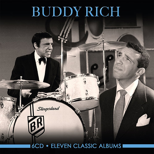BUDDY RICH • 6CD • ELEVEN CLASSIC ALBUMS