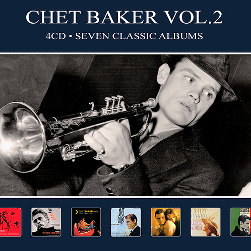 CHET BAKER VOL.2 • 4CD • SEVEN CLASSIC ALBUMS