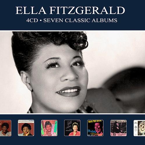 ELLA FITZGERALD • 4CD • SEVEN CLASSIC ALBUMS