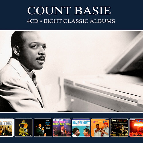 COUNT BASIE • 4CD • EIGHT CLASSIC ALBUMS