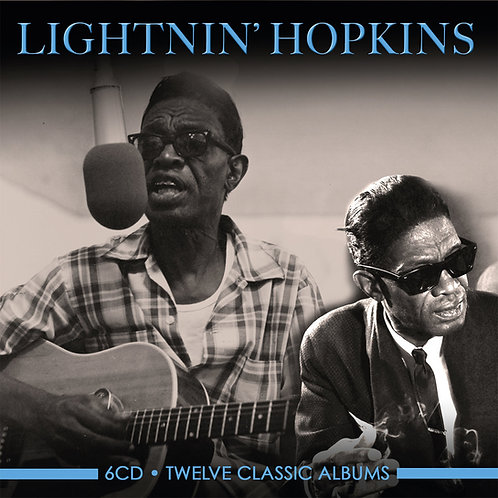 LIGHTNIN' HOPKINS • 6CD • TWELVE CLASSIC ALBUMS