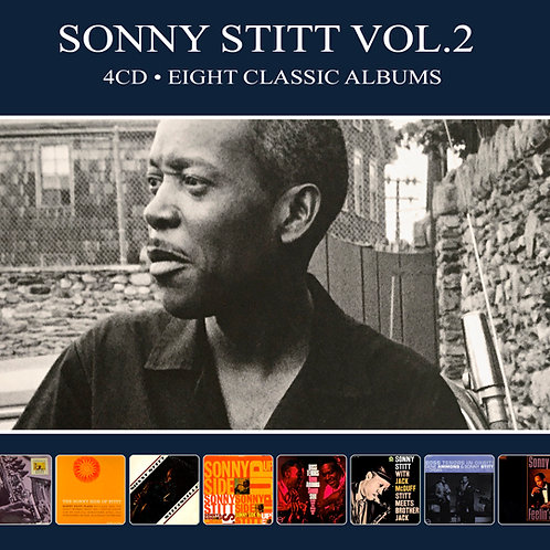 SONNY STITT VOL.2 • 4CD • EIGHT CLASSIC ALBUMS