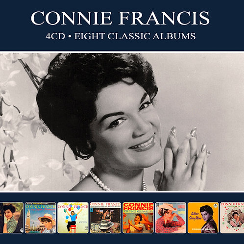 CONNIE FRANCIS • 4CD • EIGHT CLASSIC ALBUMS