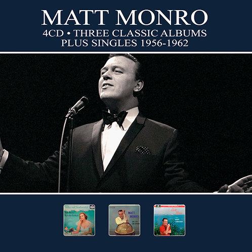 MATT MONRO • 4CD • THREE CLASSIC ALBUMS PLUS SINGLES 1956-1962
