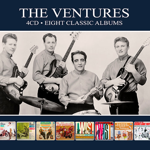 THE VENTURES • 4CD • EIGHT CLASSIC ALBUMS
