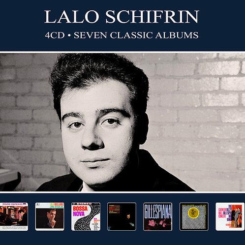 LALO SCHIFRIN • 4CD • SEVEN CLASSIC ALBUMS