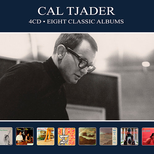 CAL TJADER • 4CD • EIGHT CLASSIC ALBUMS