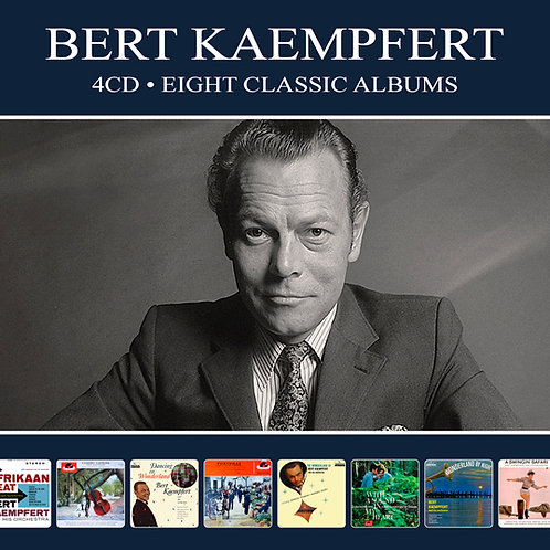 BERT KAEMPFERT • 4CD • EIGHT CLASSIC ALBUMS