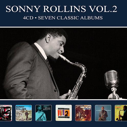 SONNY ROLLINS VOL.2 • 4CD • SEVEN CLASSIC ALBUMS