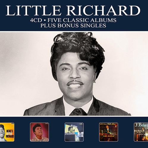 LITTLE RICHARD • 4CD • FIVE CLASSIC ALBUMS PLUS BONUS SINGLES